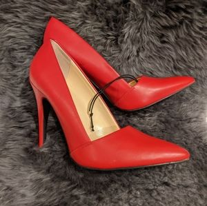 Guess Sexy Red Leather Heels